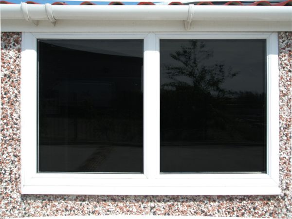 4ft PVCu fixed window
