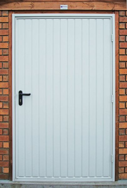 4ft steel vertical garage personnel door