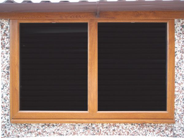 4ft timber fixed window