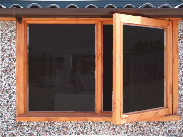 4ft timber opening window