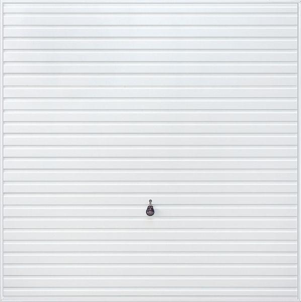 Horizontal garage door