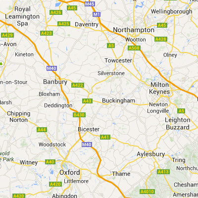 Northants, Oxford, Warwick, Bucks