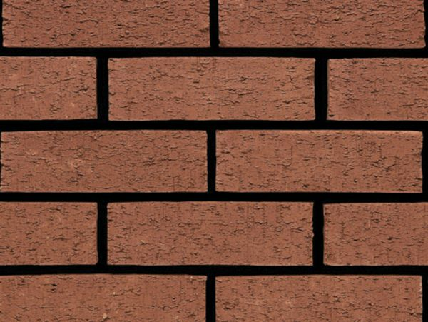 Red Wire brick cladding