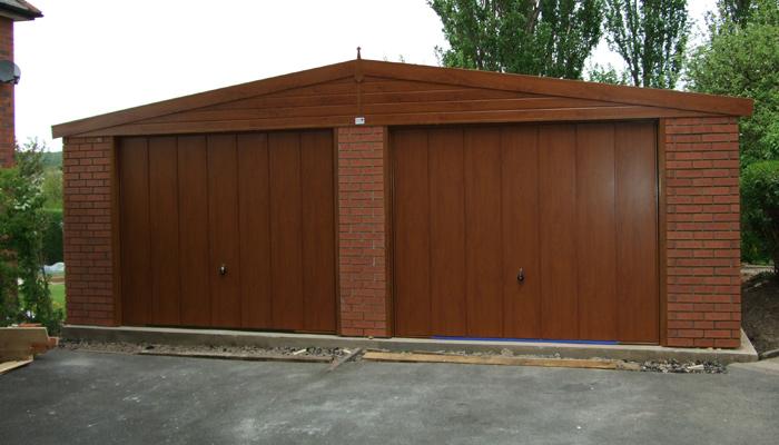 Woodthorpe concrete garage